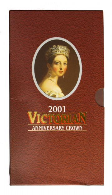 2001 Death Of Victoria Royal Mint Brilliant Uncirculated pack